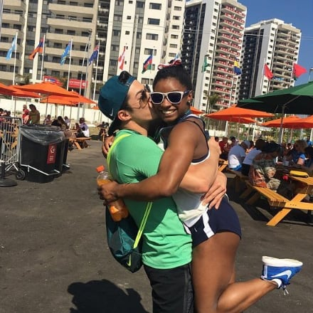 Simone Biles's Brazilian Boyfriend Calls Out Zac Efron