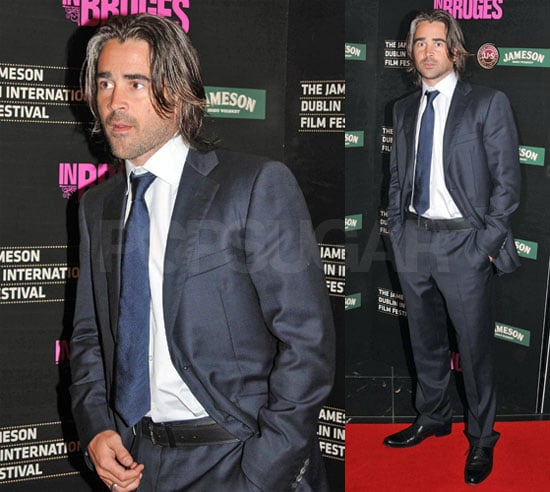 Colin Farrell at the Dublin Premiere of In Bruges