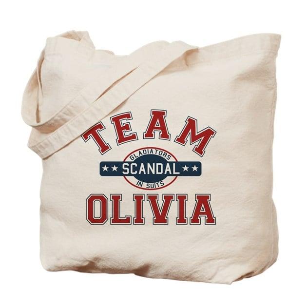 Team Olivia Tote Bag