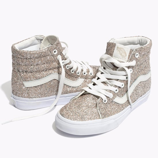 Glitter Sk8-Hi High-Top Vans Sneakers