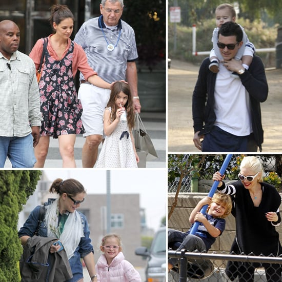 Celebrity Family Pictures Week of April 2 2012