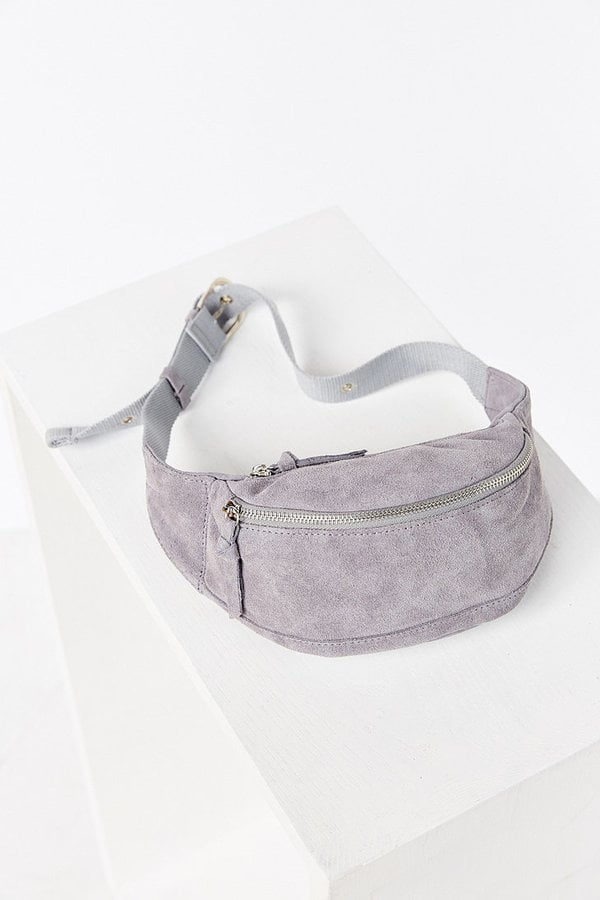 Urban Outfitters Grey Suede Bum Bag