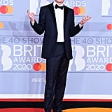 Aitch at the 2020 BRIT Awards in London