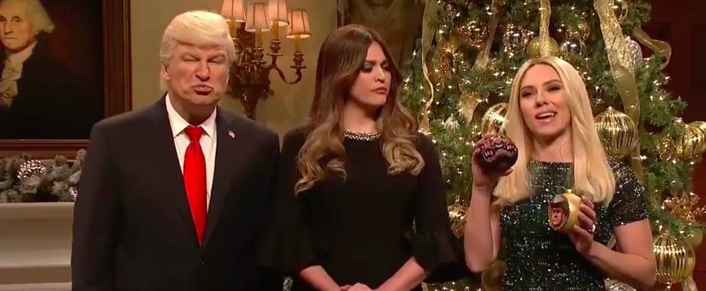 """Saturday Night Live """"Loser Tree"""" Cold Open 2017"""