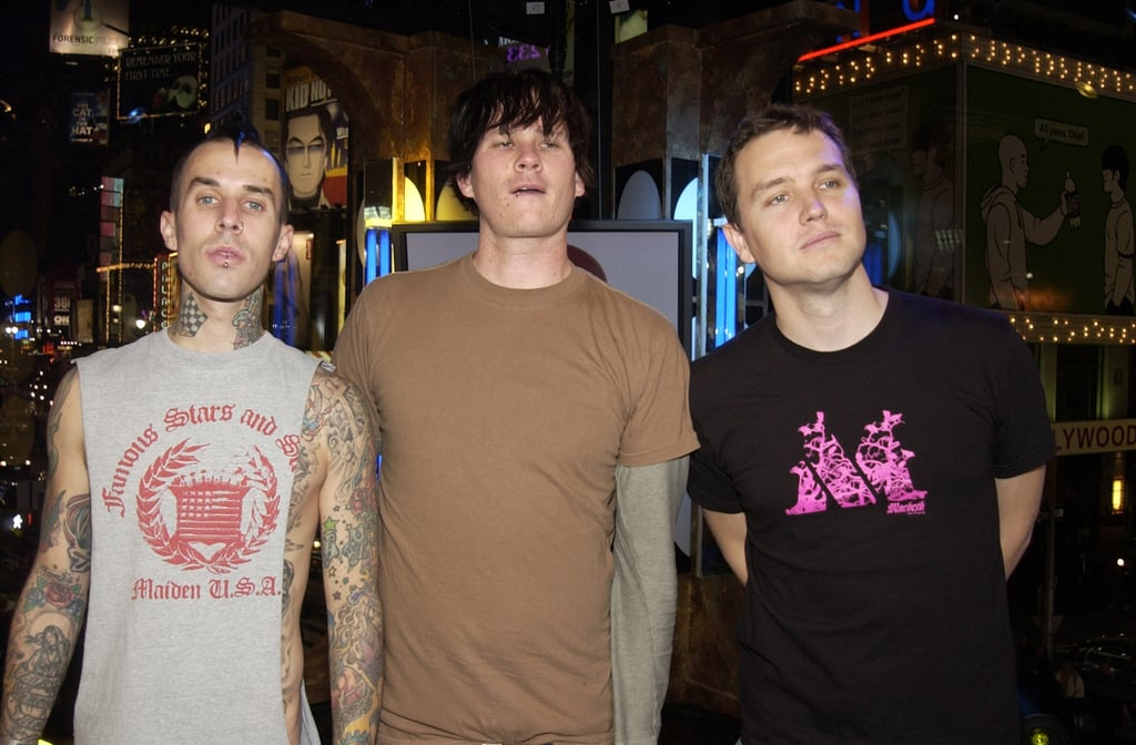 The guys of Blink-182 visited TRL in 2003.