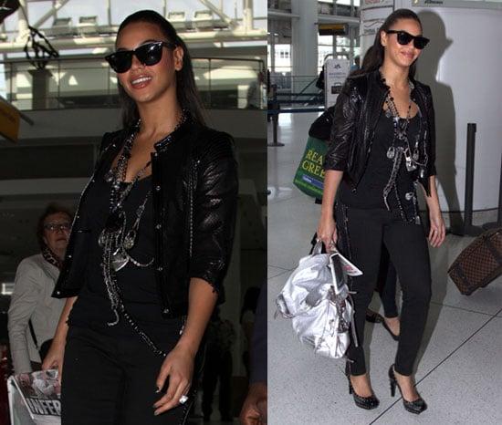 Beyonce Takes Off
