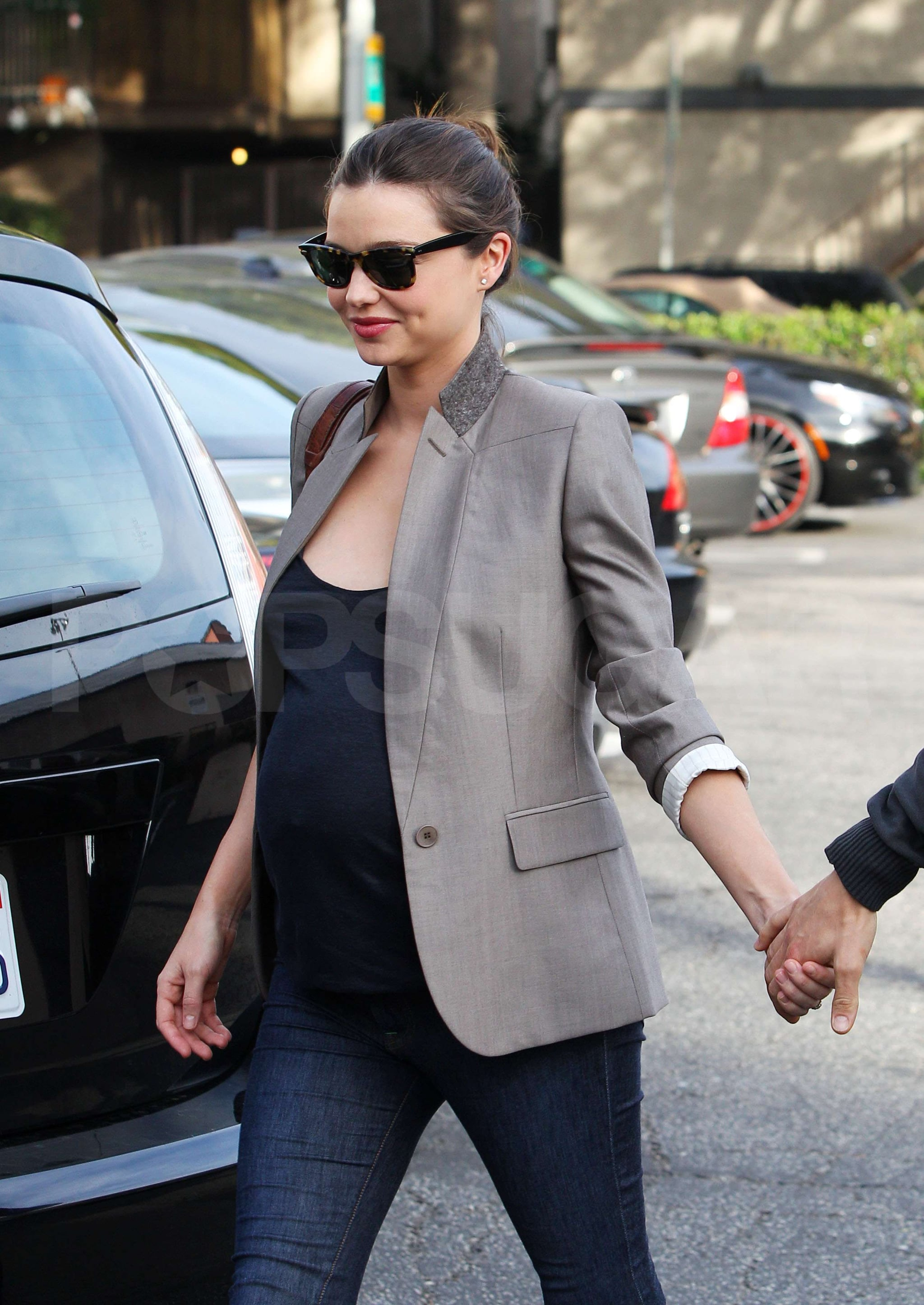 Pictures of Orlando Bloom and Pregnant Miranda Kerr Out to ...
