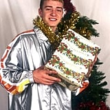 Justin Timberlake With a Dick-less Box