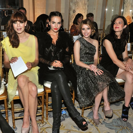 Starlets Flock to See Marchesa Spring 2012