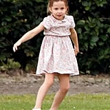 Floral Dress: Princess Charlotte