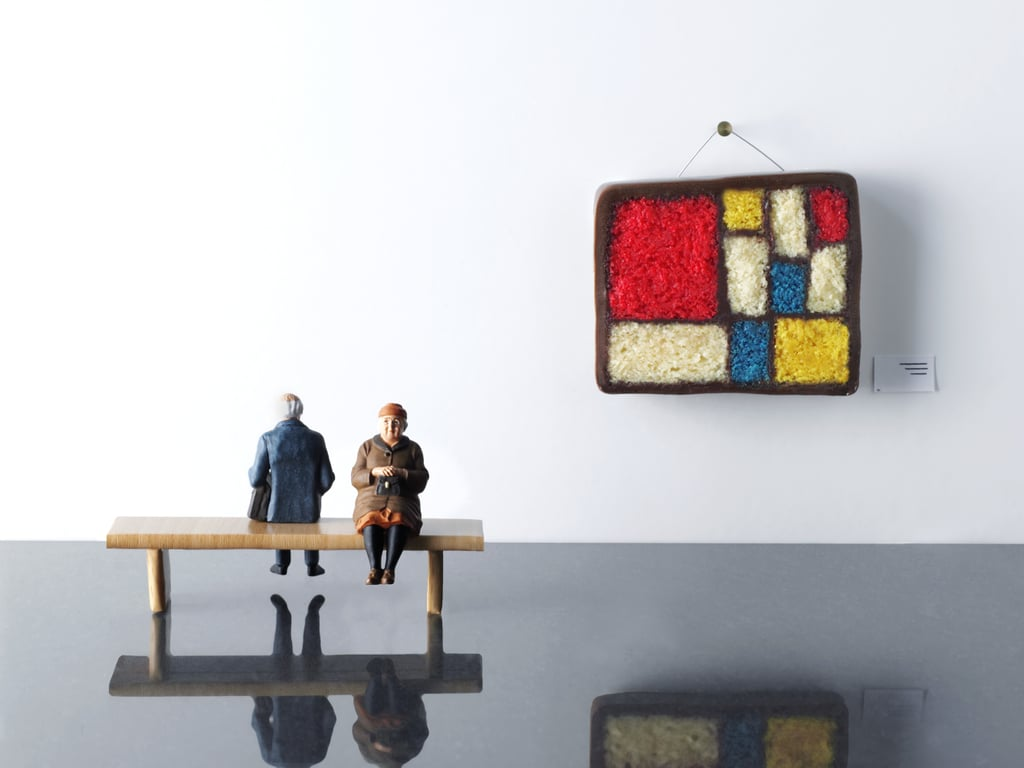 The Hanging Mondrian