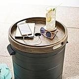 Bronze Pool Storage Bin With Charging Station
