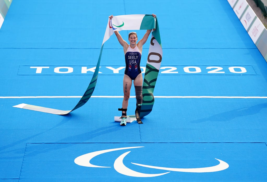 Team USA's Allysa Seely Defends Paralympic Triathlon Gold