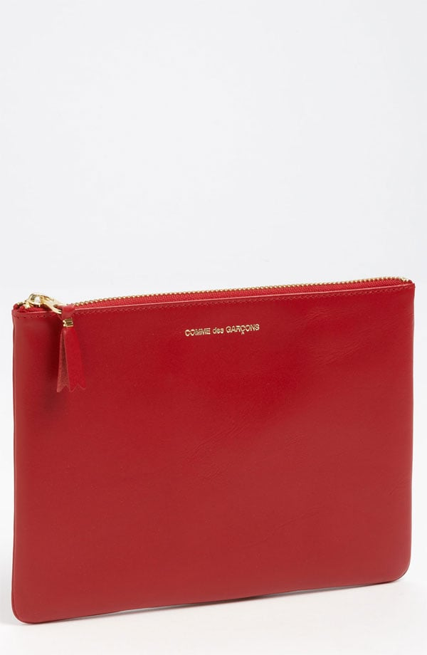 Even when she's just running errands, your mom will be the most stylish one in the store with this Comme des Garcons Large Classic Pouch ($135) in hand.