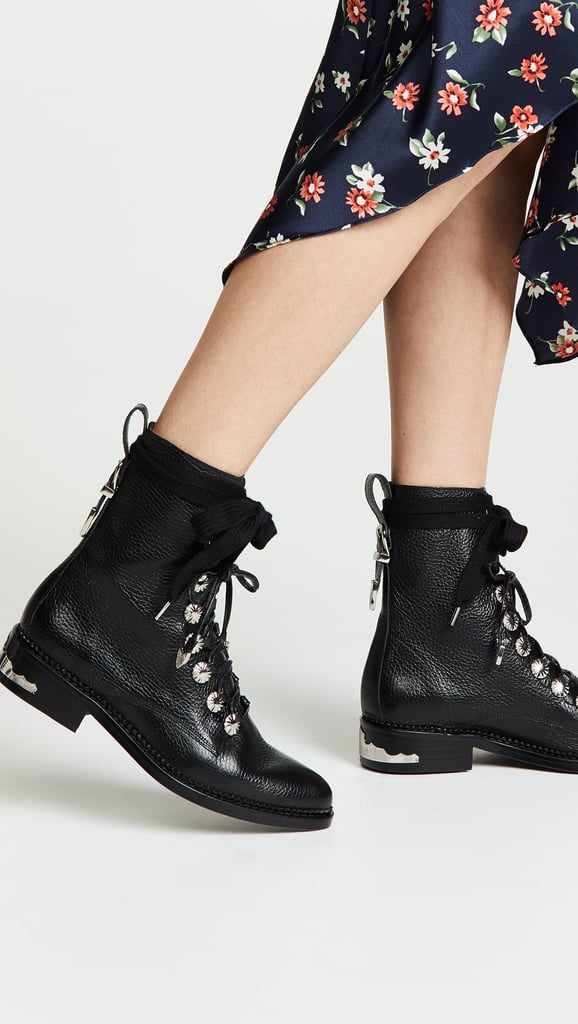 Toga Pulla Lace-Up Combat Boot