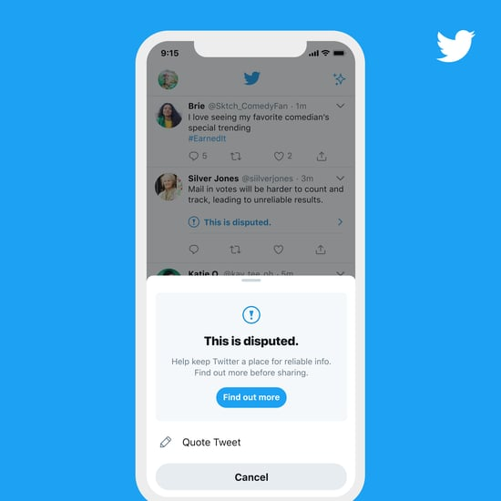 How Twitter's Temporary Retweet Election Update Works