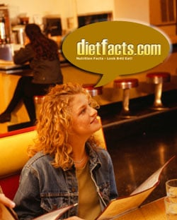 Get the Nutritional Facts: DietFacts.com