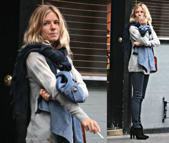 Photos Of Sienna Miller After Topless Photos In Italy With -7641
