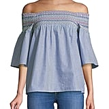 Beach Lunch Lounge Off-Shoulder Top
