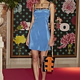 Splurge: Rixo London Nicole Azure Blue Jeweled Dress