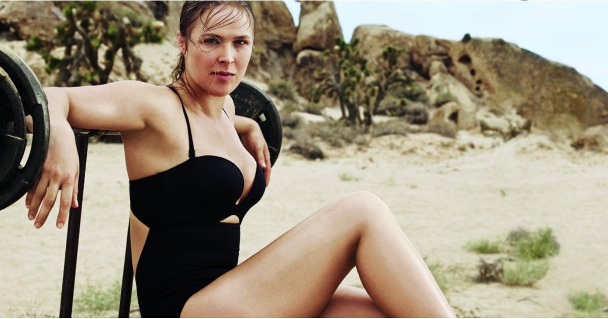 Ronda Rousey Self Magazine | POPSUGAR Fitness