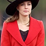 For the Sovereign's Parade in 2006, Kate selected a wide-brim hat with whimsical detailing.