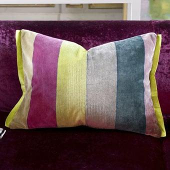 Egmont Peony Velvet Cushion ($165)
