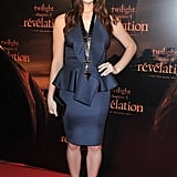Ashley Greene on the red carpet in Paris.