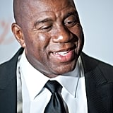 "Magic Johnson told TMZ he's proud of his son EJ in 2013: ""Cookie and I love EJ and support him in every way. We're very proud of him."""