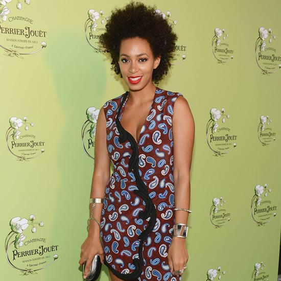 Solange Knowles Paisley Dress