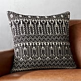 House Stark: Black and White Fair Isle Pillow