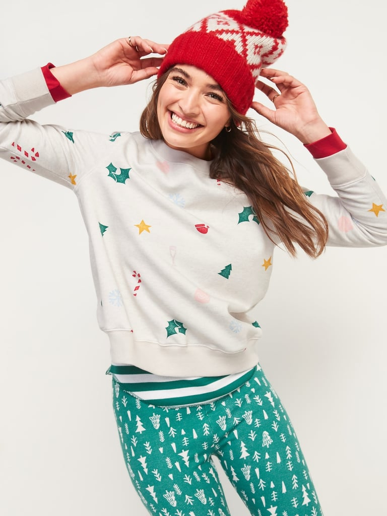 Cozy Christmas Graphic French Terry Sweatshir
