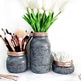 Gray Marble Jars