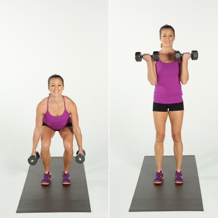 Squat and Bicep Curl   Beginner 5x5 Workout