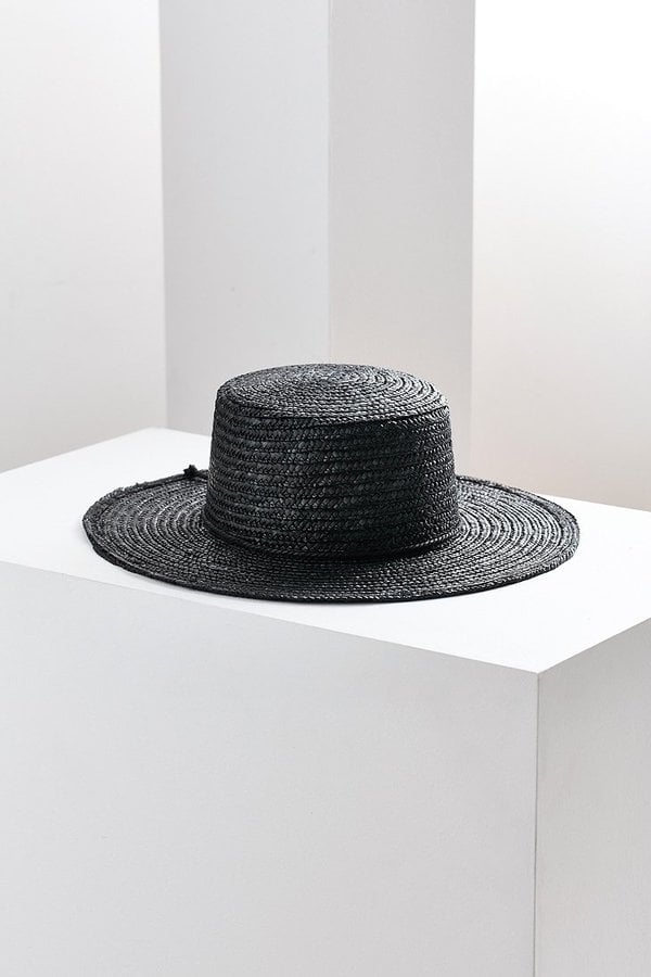Urban Outfitters Vanessa Straw Boater Hat