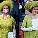 Queen Elizabeth the Queen Mother and Marion Bailey