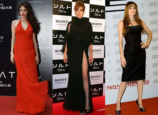 Roundup of the Week's Biggest Celebrity and Entertainment Stories Including Angelina Jolie Salt Premieres Worldwide