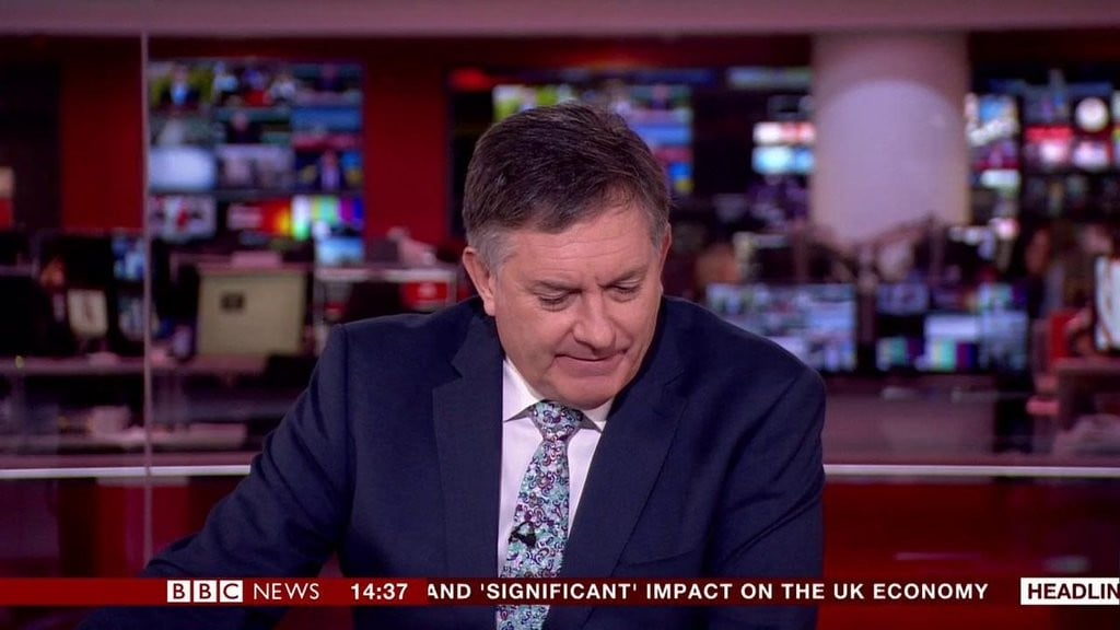 BBC Reporter Simon McCoy on the Royal Wedding
