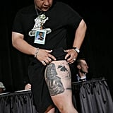 Thigh Star Wars tattoos are trending. Source: Flickr User Official Star Wars Blog