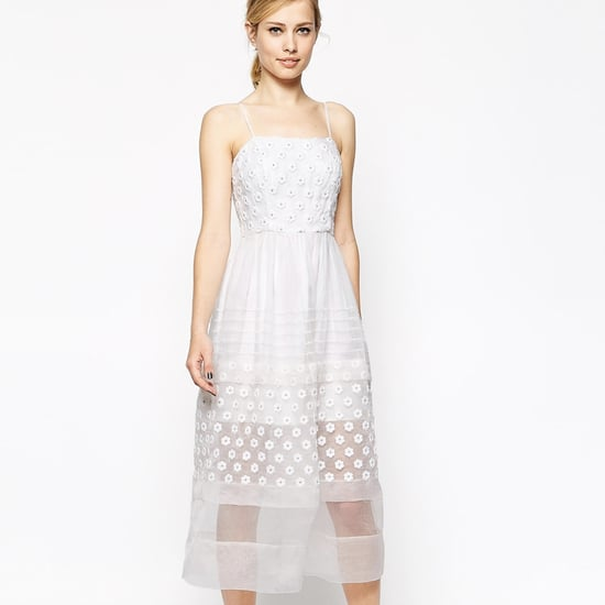 Casual White ASOS Summer Dress