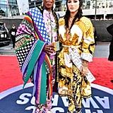 Big Freedia and Kesha at the 2019 American Music Awards