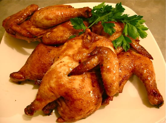 Celebrate Rosh Hashanah With Honey-Glazed Cornish Hens