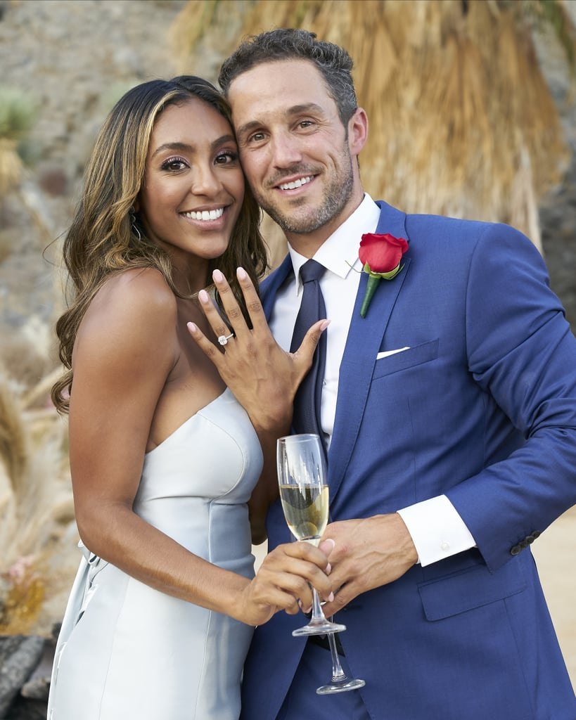 See Tayshia Adams's Engagement Ring From Zac Clark