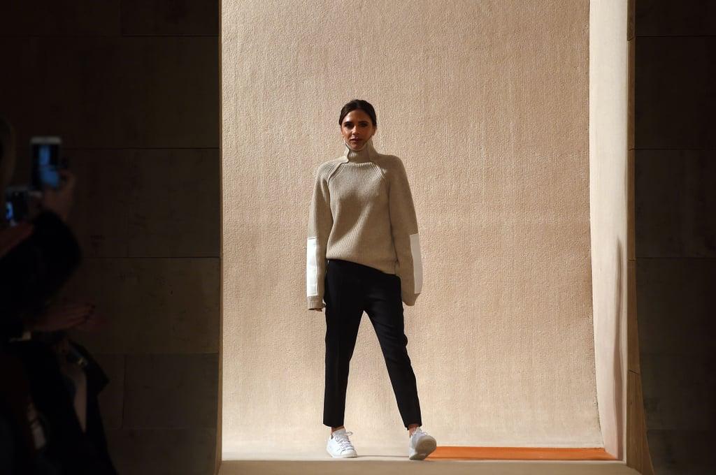 Victoria Beckham Wears Adidas Stan Smiths