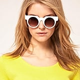 Asos Flat Top Round Sunglasses ($27)