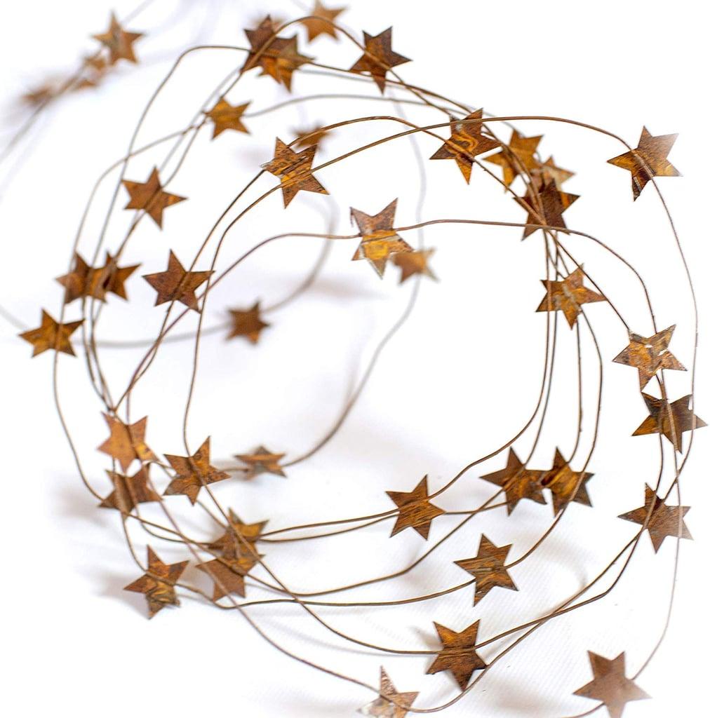 Tin Barn Star Garland