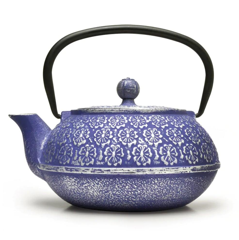 Primula Floral 40-oz. Cast-Iron Teapot