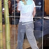 Pictures of Britney at the Gym