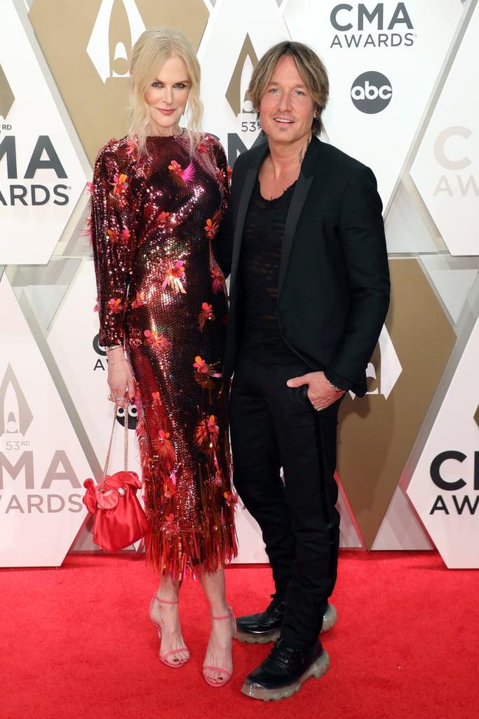 Nicole Kidman and Keith Urban at the 2019 CMA Awards