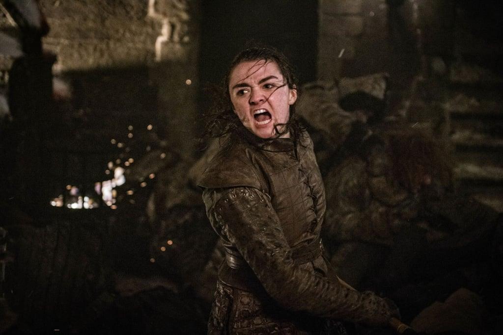 Arya Rises as Azor Ahai